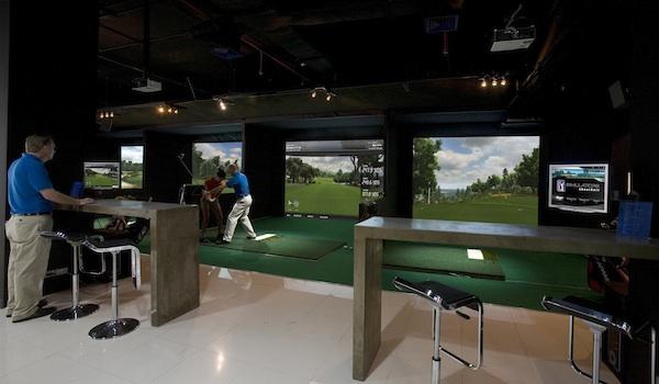 Seale golf school for Indoor golf design